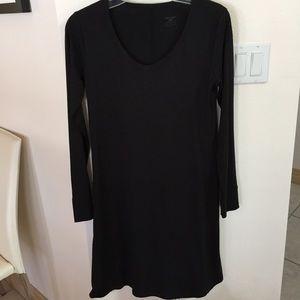 Horny Toad Black,A Line Knit Dress NWOT